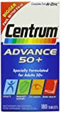 Centrum Advance 50 Plus Multivitamin Tablets - Pack of 180