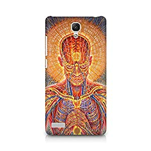 Ebby Human Mantra Premium Printed Case For Xiaomi Redmi Note