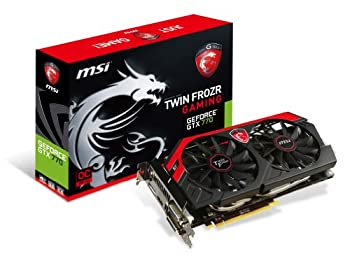 MSI N770GTX Twin Frozr 4S 4G OC グラフィックスボード 日本正規代理店品 VD5111 N770GTX Twin Frozr 4S 4G OC
