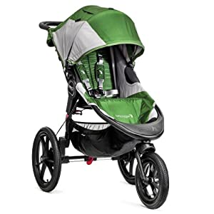 Baby Jogger Summit X3 Single Stroller, Green Gray by BaJogger