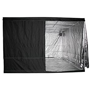 LEDwholesalers GYO1013A 120-Inch x 120-Inch x 78-Inch Mylar Reflective Hydroponic Grow Tent