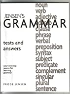 Jensen's Grammar - Tests and Answers…