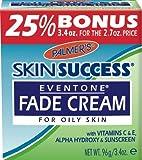 Palmer's Skin Success Eventone Fade Cream Oil Bonus 3.4 oz. (Pack of 2)