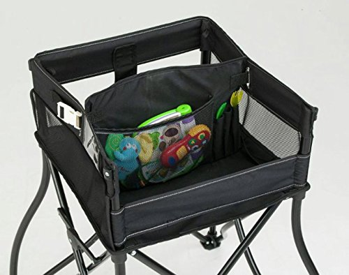 goto 2in1 portable travel high chair black by phoenix. Black Bedroom Furniture Sets. Home Design Ideas