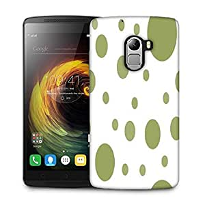 Snoogg Green Blocks Designer Protective Phone Back Case Cover For Lenovo Vibe K4 Note
