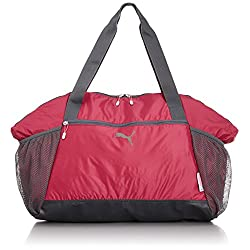eedaa12e1d Puma Fit AT Borsa Sportiva da Donna, Donna, Sporttasche Fit AT Workout Bag,  Pink – Virtual Pink/Turbulence/Omphalodes