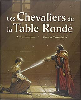 Les chevaliers de la table ronde 9782745918895 amazon for Table ronde 52