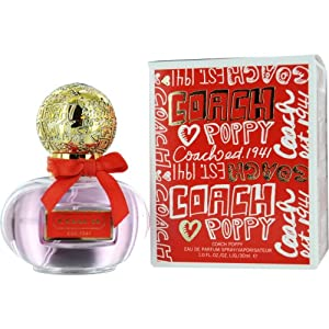 Coach Poppy Eau De Parfum Spray for Women, 1 Ounce