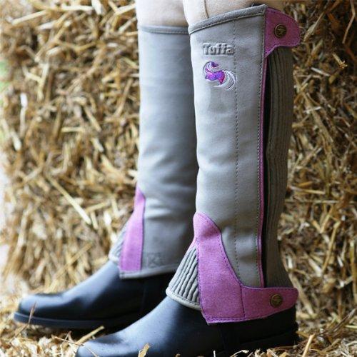 Dublin Women/'s Universal Tall Bottes d/'équitation caoutchouc étanche Respirant Doublure