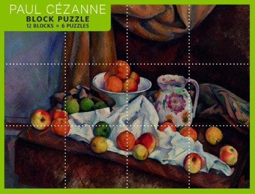 Paul Cezanne Block Puzzle: 12 Blocks / 6 Puzzles - 1