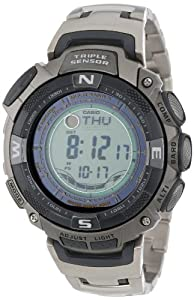Casio Men's PAW1500T-7V Pathfinder Multi-Band Solar Atomic Ultimate Watch