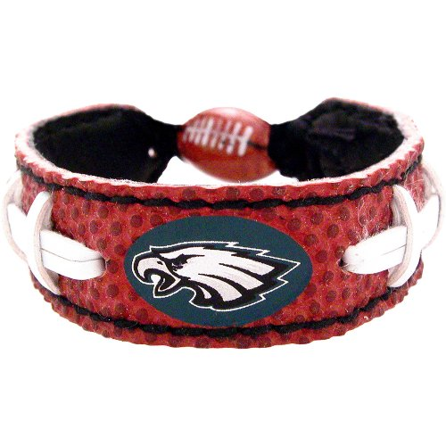NFL Philadelphia Eagles Classic Football Bracelet at Amazon.com