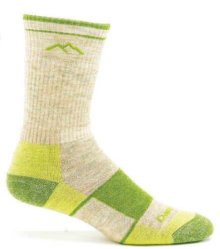 Darn Tough Vermont Women'S Merino Wool Boot Full Cushion Socks, Green Tea, Large