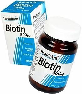 HealthAid Biotin 800µg - 60 Tablets