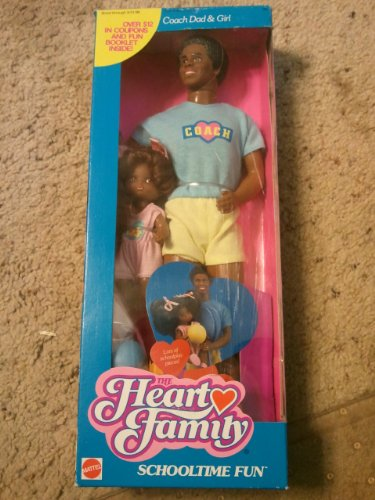 The Heart Family African American Coach Dad and Girl Schooltime Fun