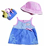 Zapf Creation Baby Born Summertime Classic Clothing Set