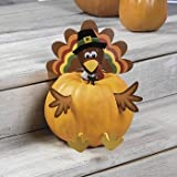 Thanksgiving Turkey PUMPKIN Poke In Head and Legs CUTE