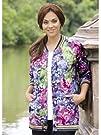 Ulla Popken Plus Size Batik Garden Kn…