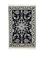 Eden Carpets Alfombra Nain K Azul 88 x 58 cm