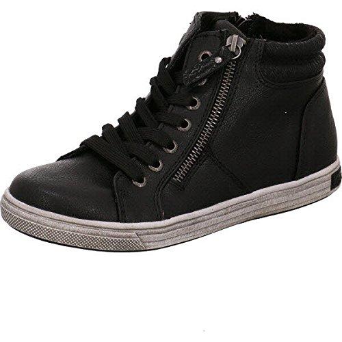 TOM TAILOR 8579910, Sneaker bambini, nero (Black), 38