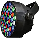 RGBW Color Mixing LED Par Can - 54 1-watt LEDs - Red, Green, Blue and White color mixing - Up-Lighting - Stage Lighting - Dance Floor Lighting - Adkins Professional Lighting