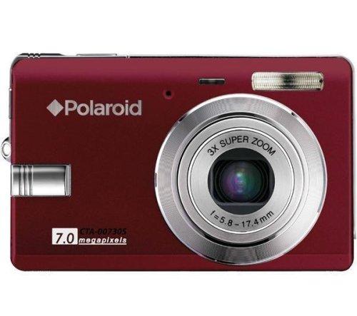 Polaroid t730 - Digital camera - compact - 7.0 Mpix - optical zoom: 3 x - supported memory: MMC, SD