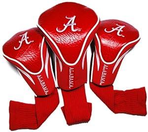 NCAA Alabama Crimson Tide 3 Pack Contour Golf Club Headcover by Team Golf