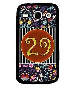 PrintVisa Metal Printed Numeric Designer Back Case Cover for Samsung Galaxy Core I8260/ I8262-D4780