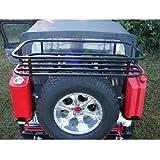 Rock Hard 4x4 Parts RH2004 Rear Bumper/Tire Carrier Rock Rack by Rock Hard 4x4