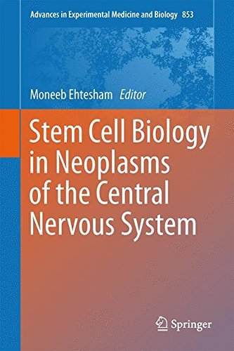 Stem Cell Biology in Neoplasms of the Central Nervous System (Advances in Experimental Medicine and Biology)