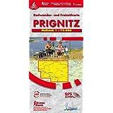 Prignitz: Rad- und Freizeitkarte, Maßstab 1 : 75.000