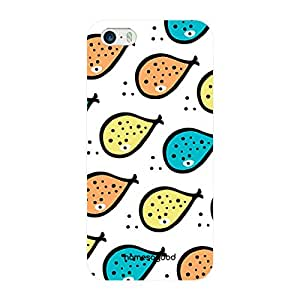 HomeSoGood Beautiful Fish Painting Multicolor Pattern For iPhone 5 / 5S (Back Cover)