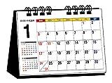 2016年 シンプル卓上カレンダー(A7ヨコ) ([カレンダー])