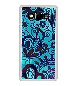 ifasho Designer Phone Back Case Cover Samsung Galaxy A8 (2015) :: Samsung Galaxy A8 Duos (2015) :: Samsung Galaxy A8 A800F A800Y ( Purple Pink Duck Queen Colorful Pattern Design )
