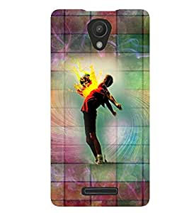 PrintVisa Music Dance Print & Pattern 3D Hard Polycarbonate Designer Back Case Cover for Xiaomi Redmi 3S
