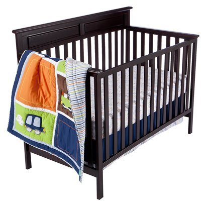Tiddliwinks Come Ride with Me Crib Bedding