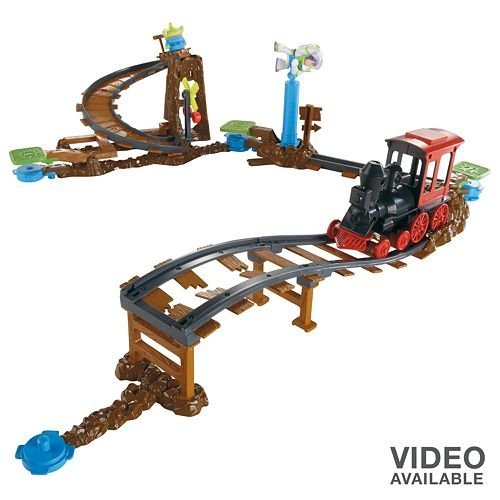 Toy Story 3 Train Games : Toy story train rescue stunt set toys games play