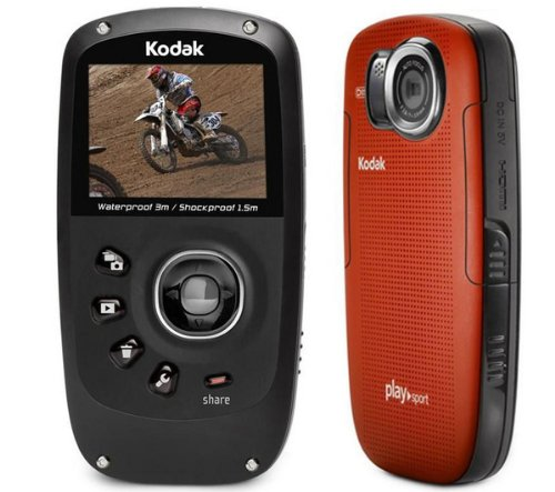 Kodak mini videocamera alta definizione playsport ii zx5 for Definizione camera