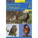 Dictionnaire des oiseaux de Francepar Gilles Bentz