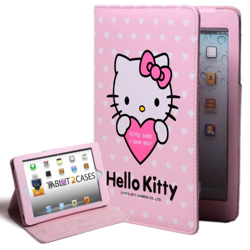 "Hello Kitty Themed Apple iPad Mini Folio with ""Kit"