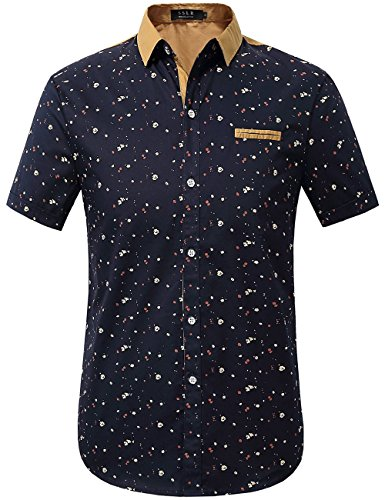 sslr-mens-printing-pattern-casual-short-sleeve-shirt-large-blue