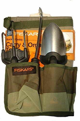 Fiskars-4-Piece-Duraframe-Garden-Tool-Set-Trowel-Cultivator-Weeder-Garden-Bucket