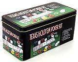 Pokerset TEXAS HOLD'EM POKER SET - Das Komplettset für Pokereinsteiger