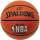 Spalding NBA Silver Junioren Damen Herren Outdoor Basketball 'Die Sportskanone Edition'