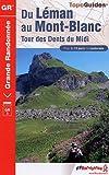 echange, troc Dominique Gengembre, Collectif - Du Léman au Mont-Blanc : Tour des Dents du Midi