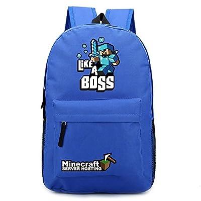 Minecraft Outdoor backpack schoolbag Waterprof Game Theme Cartoon Schoolbag from Minecraft