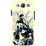 For Samsung Galaxy S3 I9300 Word Pattern ( Word Pattern, Design, Thinking, Good Quotes, Yellow Background ) Printed Designer Back Case Cover By TAKKLOO