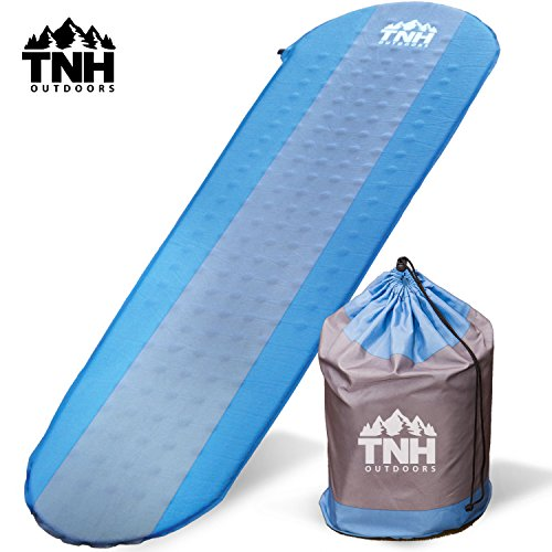 #1 Premium Self Inflating Sleeping Pad ✦ Lightweight Foam Padding and Superior Insulation ✦ Great For Hiking and Camping ✦ Construction and Thick Outer Skin ✦ (Kids Car Foam Mat compare prices)