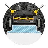 ECOVACS ROBOTICS DM85 Intelligenter Staubsaugerroboter mit integriertem Wasserbehälter zum Wischen, schwarz - 2