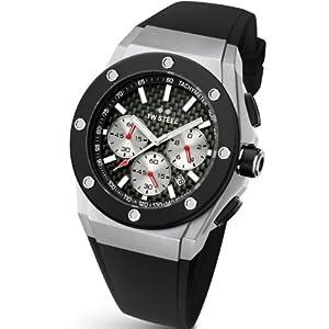 TW Steel CE4020 - Reloj de pulsera unisex, silicona, color negro